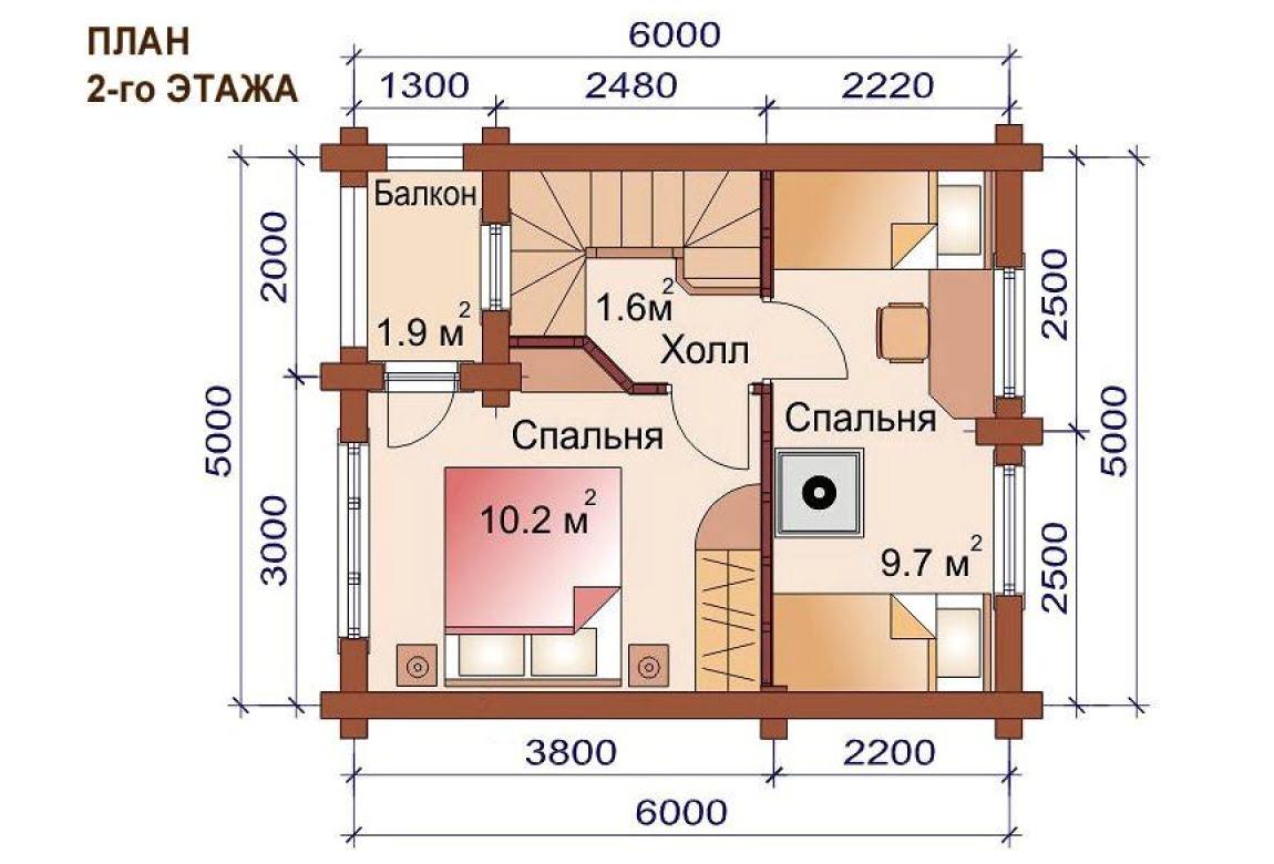 План N2 проекта бани АСД-1500