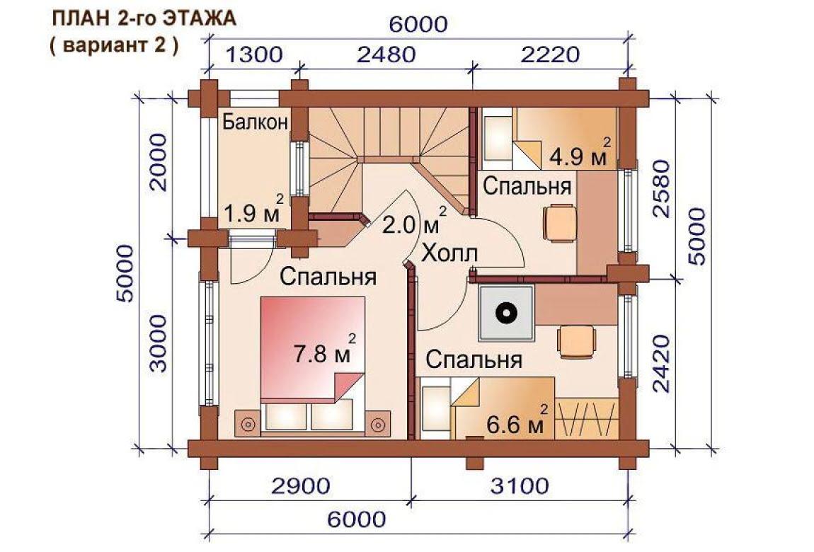 План N3 проекта бани АСД-1500