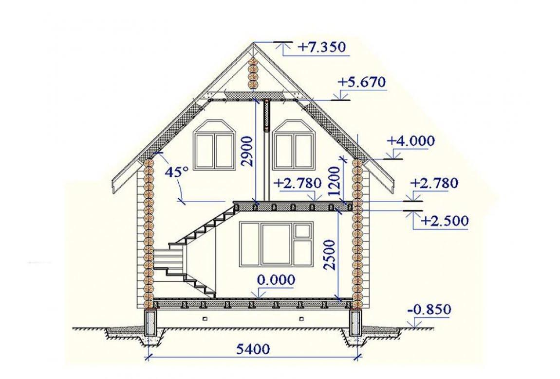 План N3 проекта бани АСД-1502