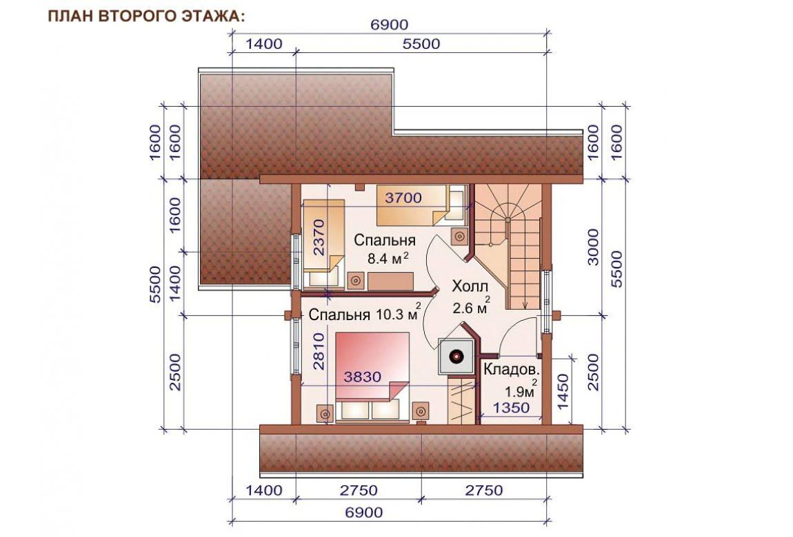План N1 проекта бани АСД-1503