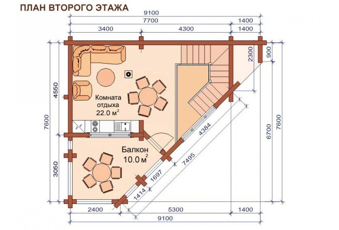 План N2 проекта бани АСД-1507