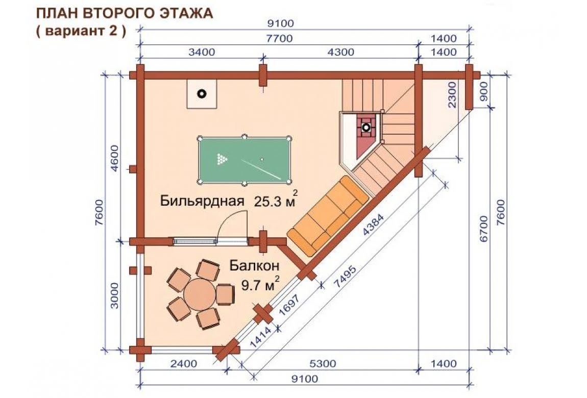 План N4 проекта бани АСД-1507