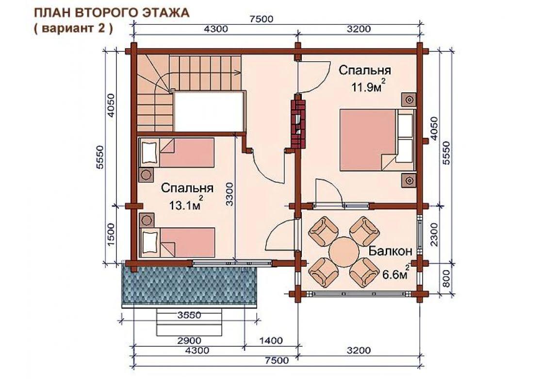План N3 проекта бани АСД-1509