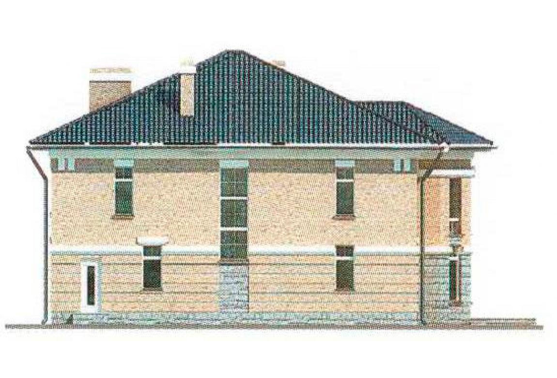 Проект дома из кирпича АСД-1051 (uploads/gss/goods/51/big_3.jpg).