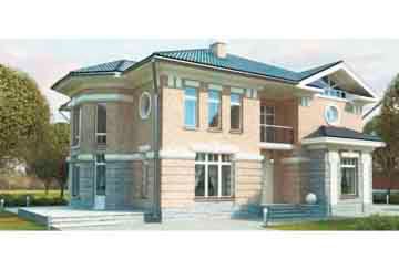 Проект кирпичного дома АСД-1051