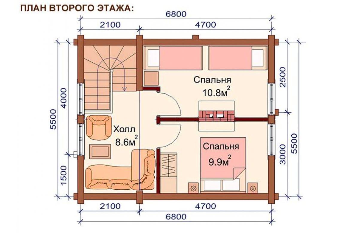 План N2 проекта бани АСД-1510