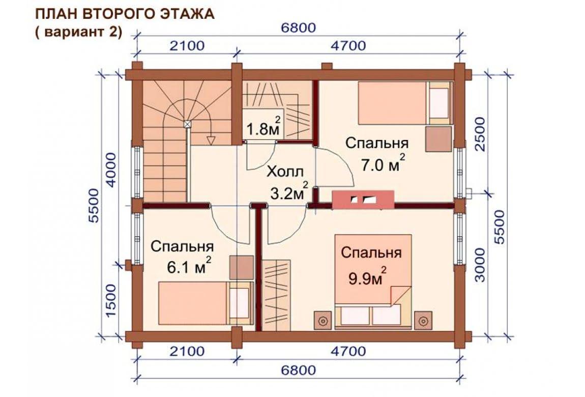 План N3 проекта бани АСД-1510