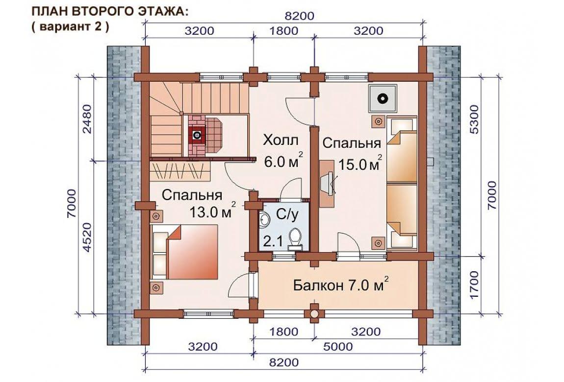 План N3 проекта бани АСД-1515