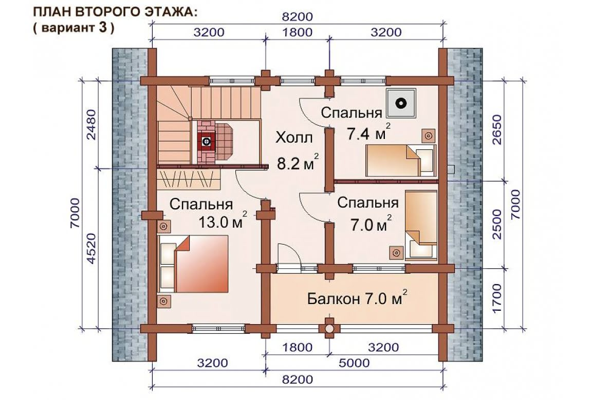План N4 проекта бани АСД-1515