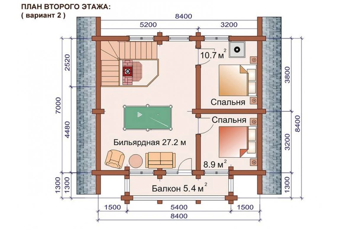 План N3 проекта бани АСД-1517