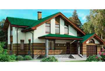Проект кирпичного дома АСД-1052