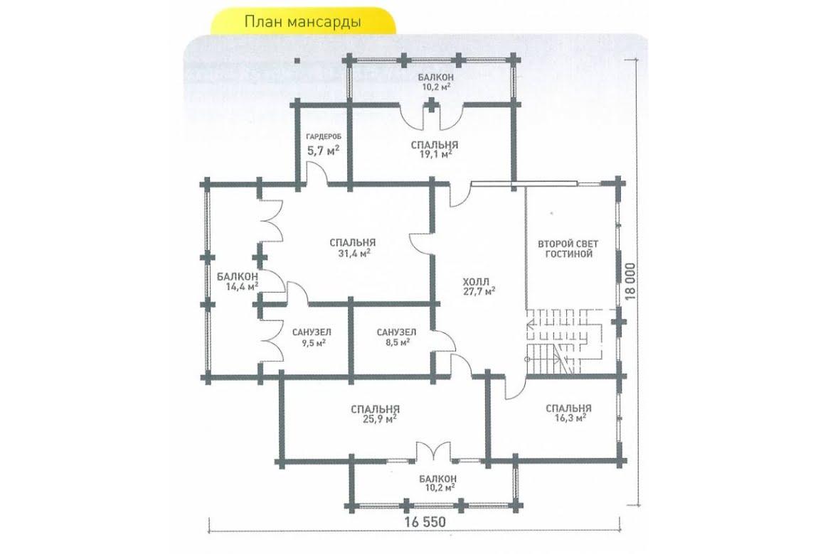 План N1 проекта ВИП дома АСД-Швеция