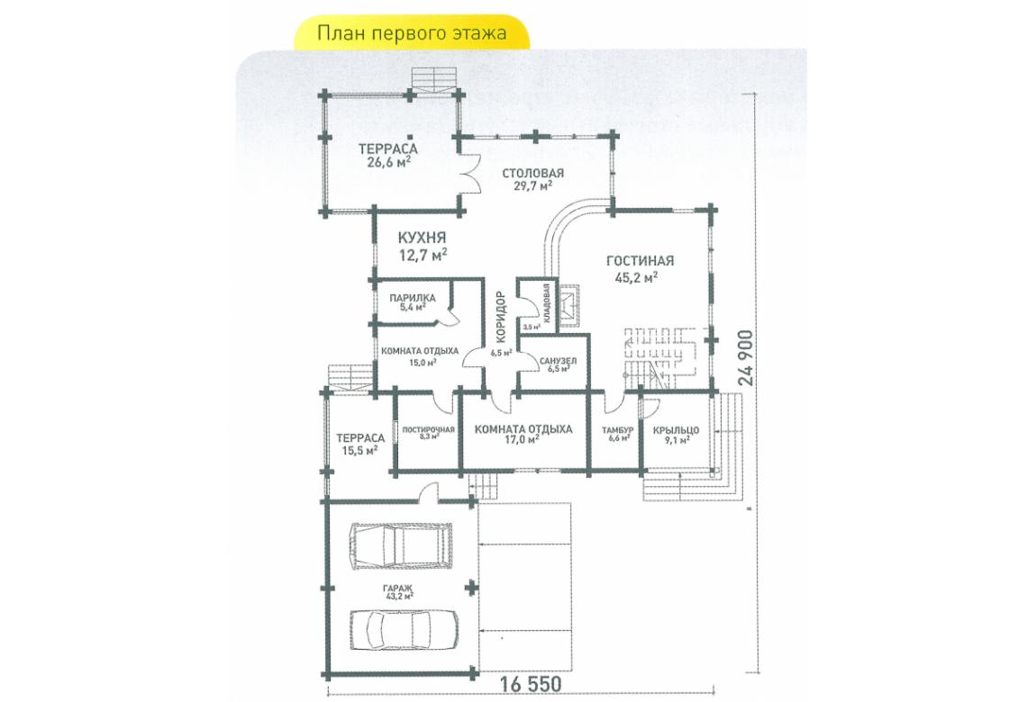 План N2 проекта ВИП дома АСД-Швеция