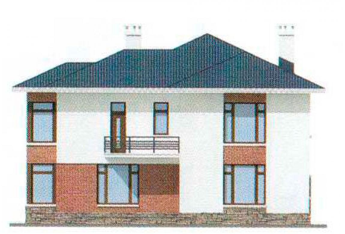 Проект дома из кирпича АСД-1054 (uploads/gss/goods/54/big_4.jpg).