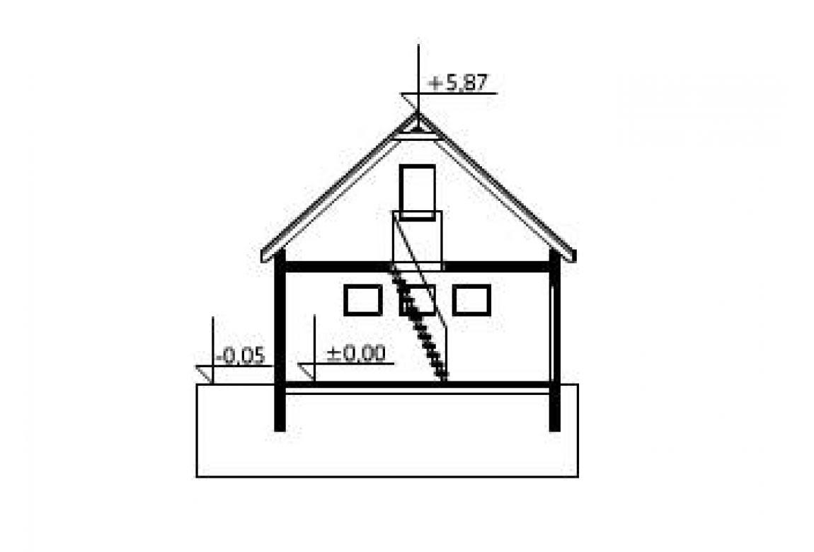 План N3 проекта гаража АСД-1548