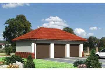 Проект гаража АСД-1549