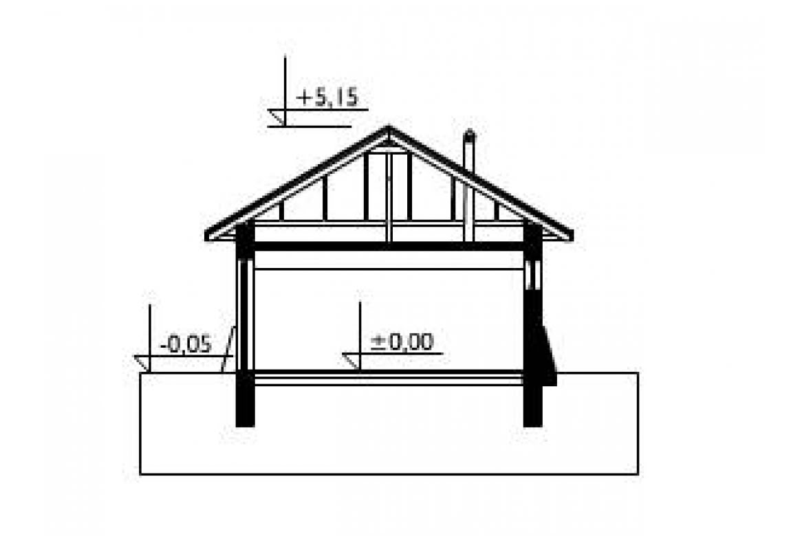 План N2 проекта гаража АСД-1549