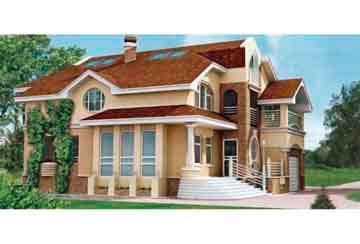 Проект кирпичного дома АСД-1055