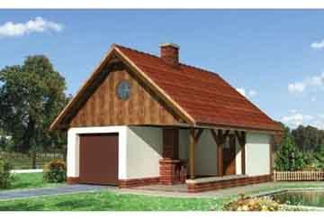Проект гаража АСД-1550