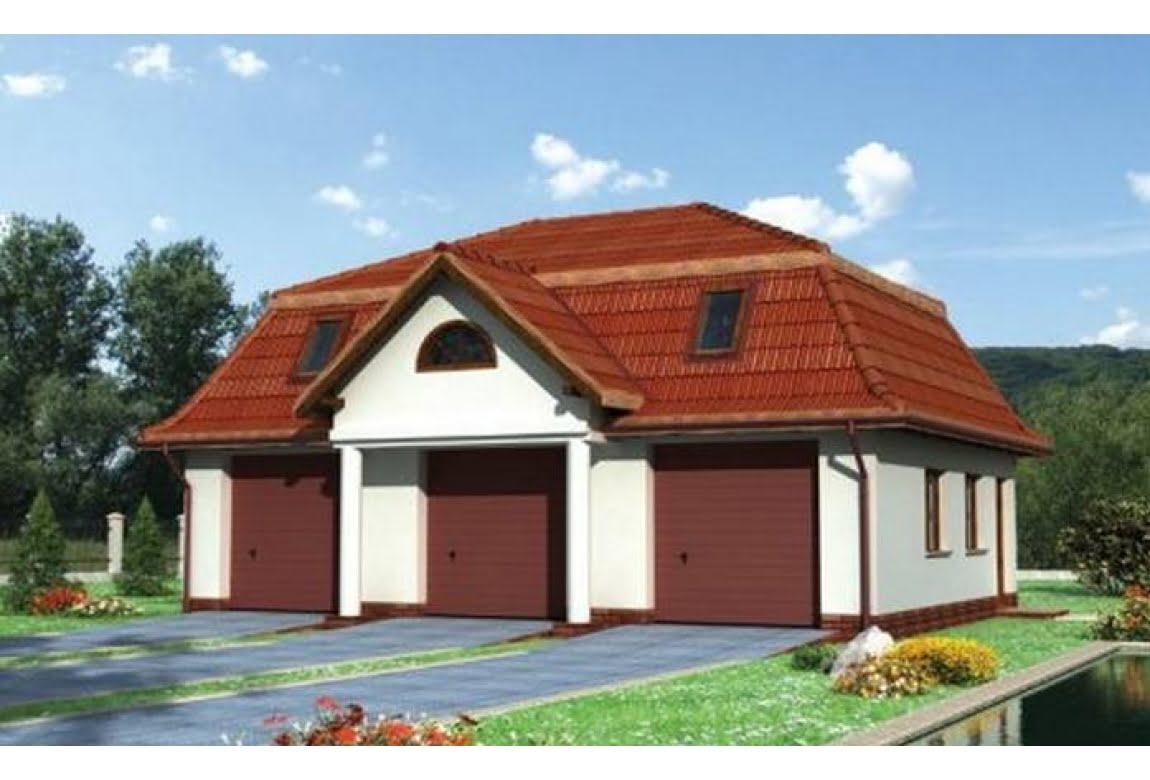 Проект гаража №24