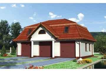 Проект гаража АСД-1551
