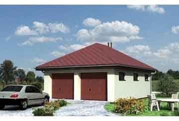 Проект гаража АСД-1553