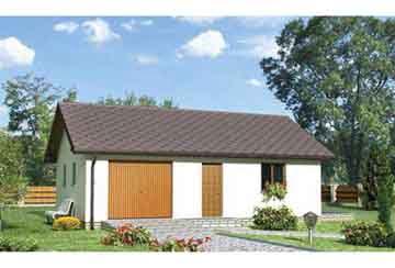 Проект гаража АСД-1554