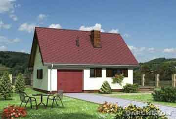 Проект гаража АСД-1556