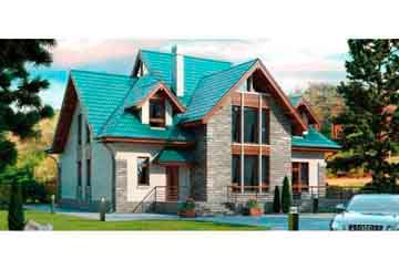 Проект кирпичного дома АСД-1056