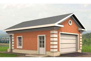 Проект гаража АСД-1561