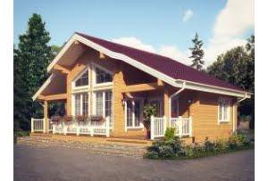 Деревянный дом из клееного бруса Авиньон