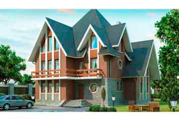 Проект кирпичного дома АСД-1057