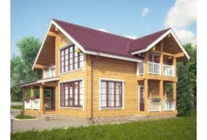 Проект дома из клееного бруса Кедар