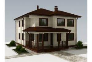 Проект дома из клееного бруса Сен-Мало