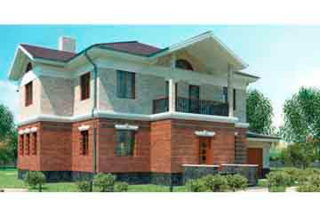 Проект кирпичного дома АСД-1059