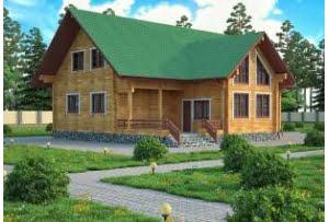 Деревянный дом из клееного бруса Авила