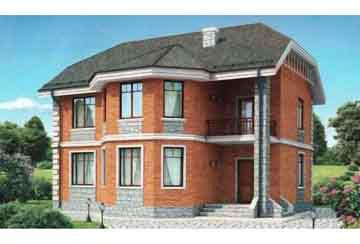 Проект кирпичного дома АСД-1006