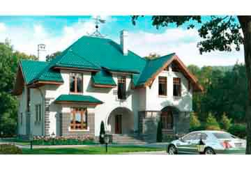 Проект кирпичного дома АСД-1062