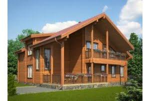 Проект дома из клееного бруса Цюрих