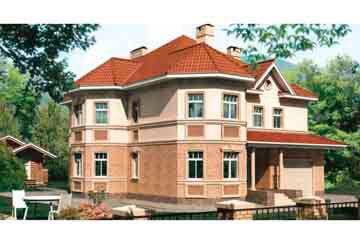 Проект кирпичного дома АСД-1063