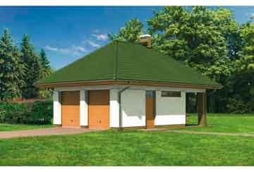 Проект гаража АСД-1639
