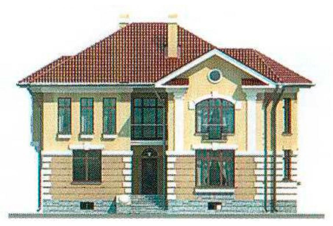 Проект дома из кирпича АСД-1064 (uploads/gss/goods/64/big_5.jpg).