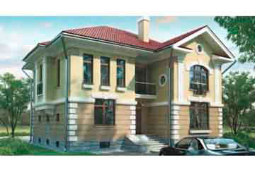 Проект кирпичного дома АСД-1064