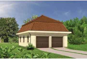 Проект гаража АСД-1642