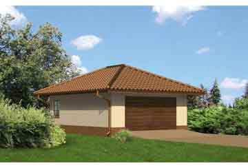 Проект гаража АСД-1644
