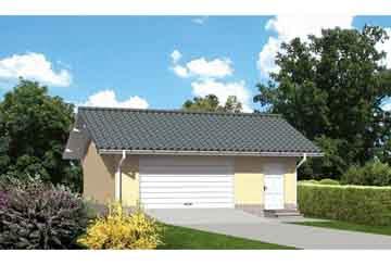 Проект гаража АСД-1645