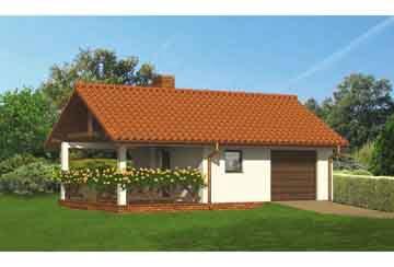 Проект гаража АСД-1648