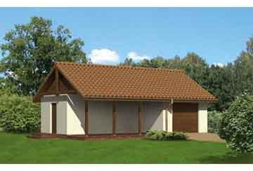 Проект гаража АСД-1653