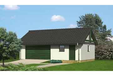 Проект гаража АСД-1654