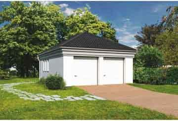 Проект гаража АСД-1656